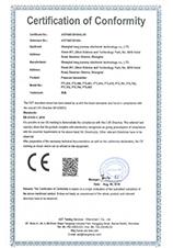 压力开关CE证书