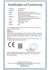 压力变送器CE证书