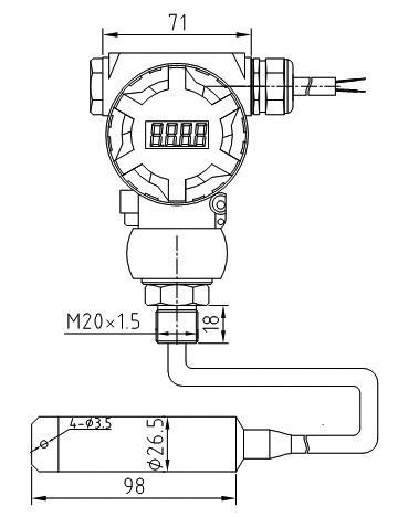 PTL601S尺寸