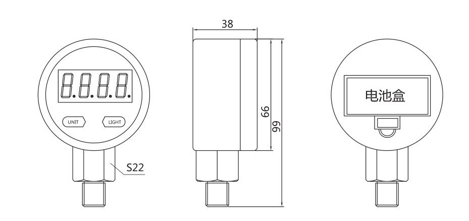 YL-809尺寸图