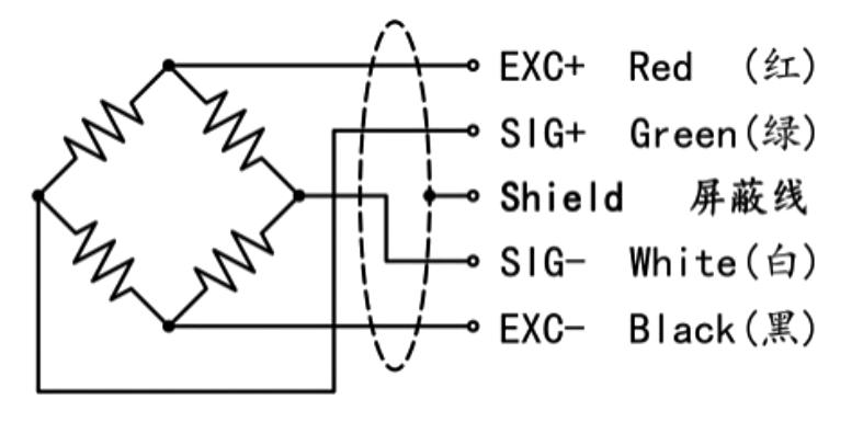 传感器接线示意图