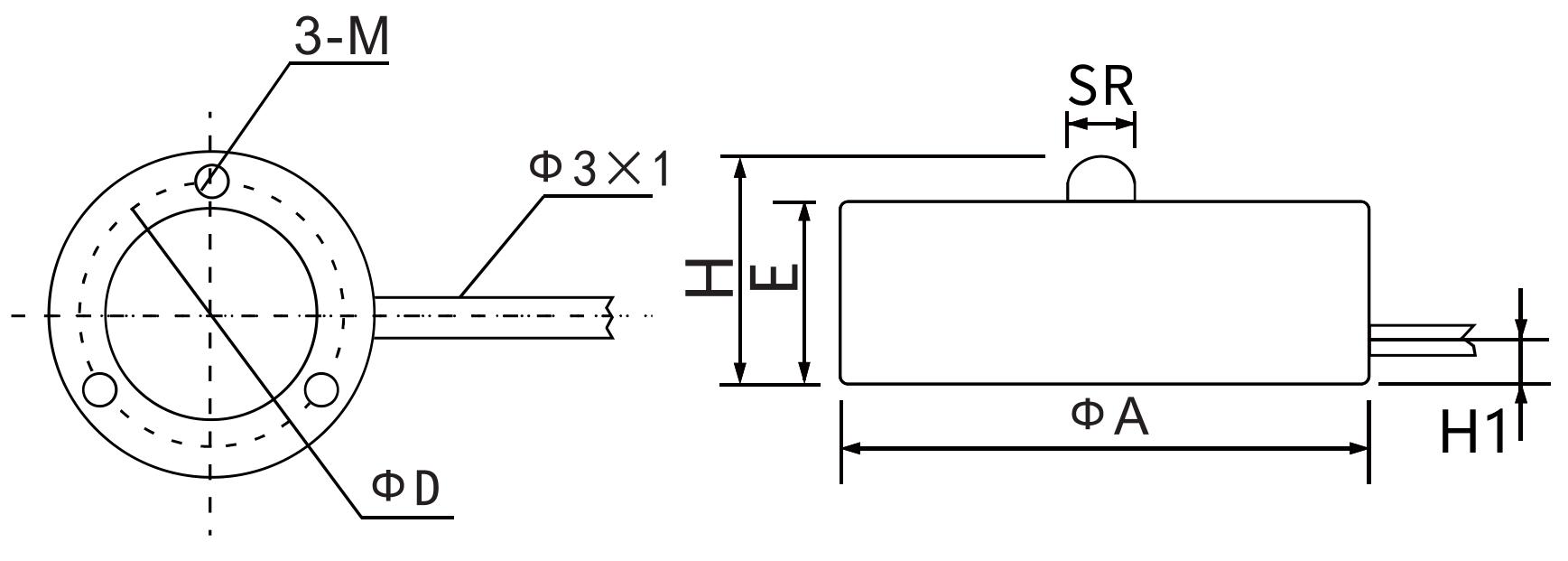 LLBHM-I--1尺寸图