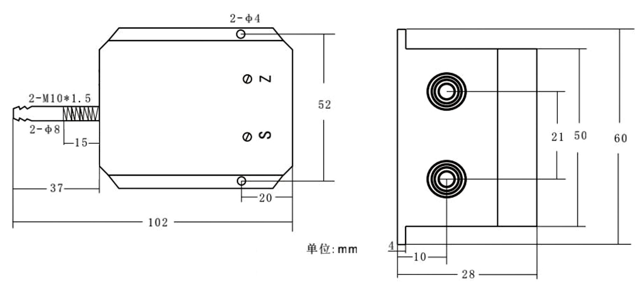 802D尺寸图